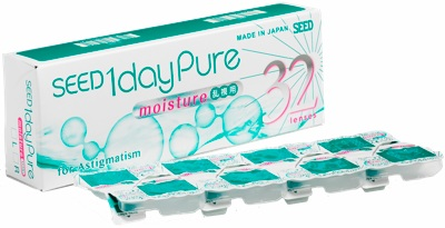 1 day Pure for Astigmatism kontaktlinser